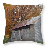 On The Road To Jonesborough Throw Pillow