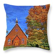 On The Road To Maryville Throw Pillow