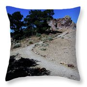 On The Road To Virginia City Nevada 16 Throw Pillow