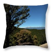 On The Road To Virginia City Nevada 4 Throw Pillow