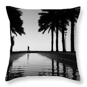 Brickell Run Throw Pillow
