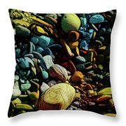 On The Shores Of My Imagination Throw Pillow