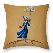 On The Street Where You Live Throw Pillow