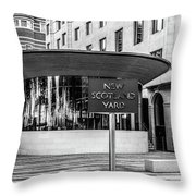 On The Streets Throw Pillow
