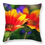 On The Sunny Side... Throw Pillow