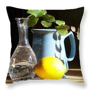 On The Table 2 - Photograph Throw Pillow
