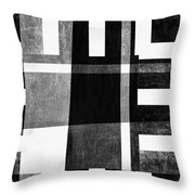 On The Tarmac Designer Series 3a14bwflip Throw Pillow