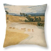 On The Tees At Rockcliffe Throw Pillow