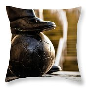 On The Toon. Throw Pillow