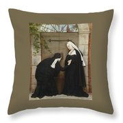On The Watch Throw Pillow
