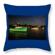 On The Waterfront V Throw Pillow
