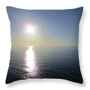 On The Way Down Throw Pillow