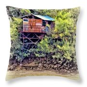On The Way To Cadillac 15 Throw Pillow