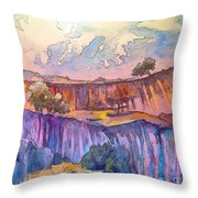 On The Way To Cazorla 03 Throw Pillow