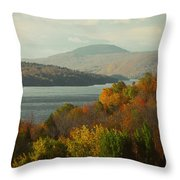 On The Way To Fall Throw Pillow