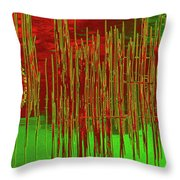 On The Way To Tractor Supply 3 11 Throw Pillow