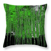 On The Way To Tractor Supply 3 16 Throw Pillow