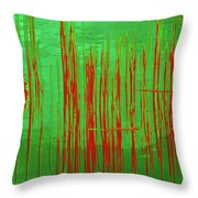 On The Way To Tractor Supply 3 2 Throw Pillow