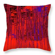 On The Way To Tractor Supply 3 20 Throw Pillow