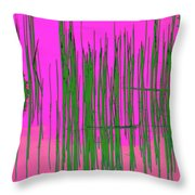 On The Way To Tractor Supply 3 21 Throw Pillow