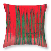 On The Way To Tractor Supply 3 23 Throw Pillow