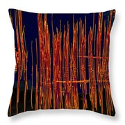 On The Way To Tractor Supply 3 26 Throw Pillow