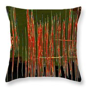 On The Way To Tractor Supply 3 27 Throw Pillow