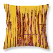 On The Way To Tractor Supply 3 30 Throw Pillow