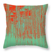 On The Way To Tractor Supply 3 35 Throw Pillow
