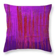 On The Way To Tractor Supply 3 7 Throw Pillow