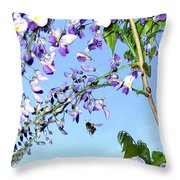 On The Wing Throw Pillow