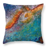 On The Wings Of Hope Throw Pillow