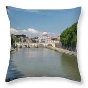On To The  Tyrrhenian Sea Throw Pillow