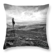 On Top Throw Pillow