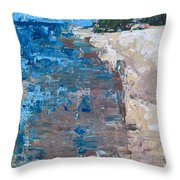 On Traverse Bay Throw Pillow