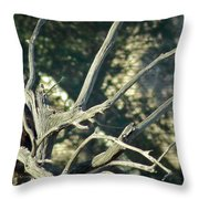 On Watch Throw Pillow