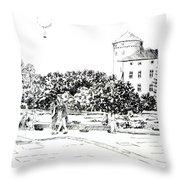 on Wawel Throw Pillow