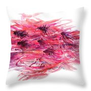 On Wings As Eagles Throw Pillow