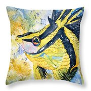 On Wings Throw Pillow