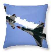 On Your Six Throw Pillow