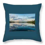 Onaping Reflections Throw Pillow