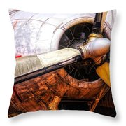 Once A Giant Throw Pillow