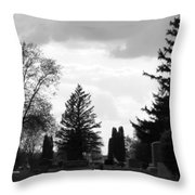 Once And For All Throw Pillow