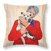 Once In A Lifetime Love Throw Pillow