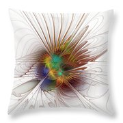 Once It Flew... Throw Pillow
