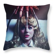 Once Upon A Nightmare Throw Pillow