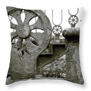 Once Upon A Stairway Throw Pillow
