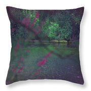 Once Upon A Summer Throw Pillow