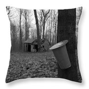 Once Upon A Time At The Sugar Shack Throw Pillow
