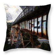 Once Upon A Time In Any Town Usa Throw Pillow